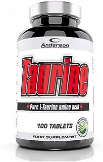 Integratore Anderson Taurine 100 Cpr Taurina 1000 mg per compressa