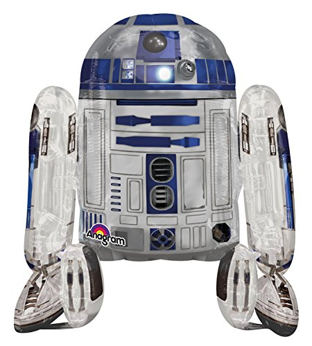 Star Wars R2D2 AirWalkers Folienballon