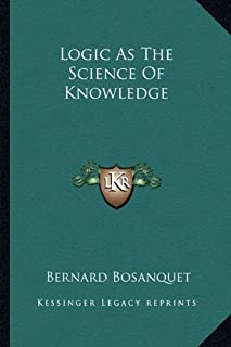 Logic as the Science of Knowledge