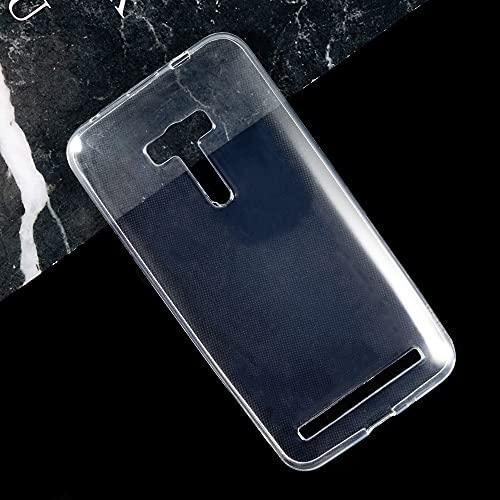 Asus Zenfone Selfie ZD551KL Hülle, Soft TPU Back Cover Stoßfest Silikon Bumper Anti-Fingerabdruck Ganzkörper Schutzhülle für Asus Zenfone Selfie ZD551KL (transparent)