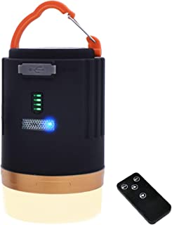 [LivelyLife]LED ランタン キャンプ ランタン USB 充電式 4800mAh 大容量 懐中電灯 照明ライト アウトドア ライト 3つ点灯モード 明るい 電量表示 マグネット式 IPX-6防水&防塵 小型 照明/停電事故/台風/旅...