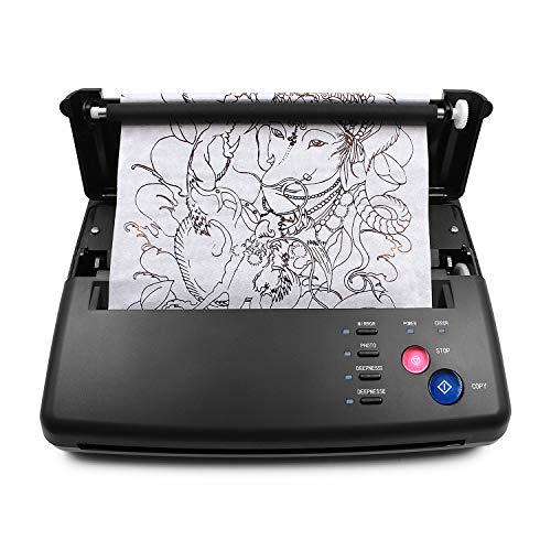 TATELF Tatuaggio Trasferimento Machine tattoo stencil machine per tatuaggi Disegno Termica Stampante Copiatrice