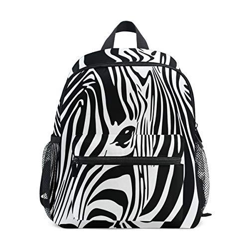 Mini kinderrugzak dagrugzak abstract dier zebra kunst kleuterschool kleine kinderen tas voor reizen meisjes jongens