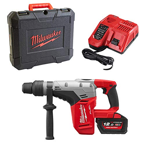 Milwaukee M18CHM-121C SDS-Max Cordless Combination Hammer with Battery