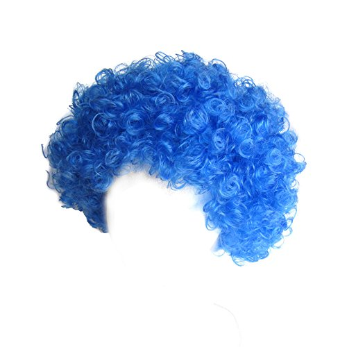 SeasonsTrading Economy Blue Afro Wig ~ Halloween Costume Party Wig (STC13035) - http://coolthings.us