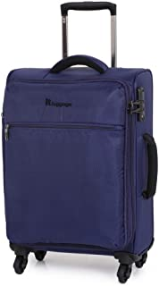 IT Luggage The Lite 54cm Carry On Luggage 1.8 kg - Blue
