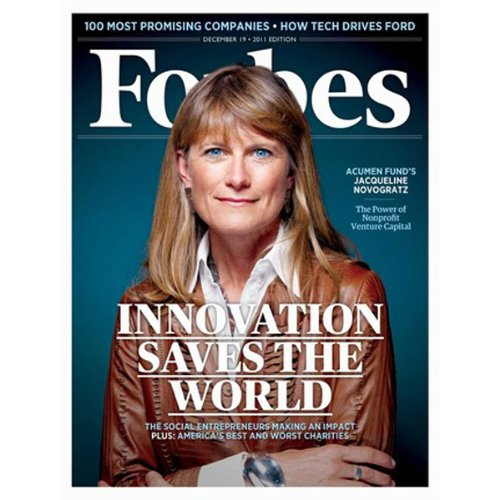 Forbes, December 5, 2011 audiobook cover art