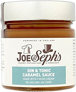 Joe & Seph's Gin & Tonic Caramel Sauce 230g - Pack of 6