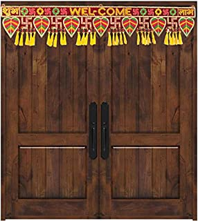 CraftVatika Bandarwal Toran Handmade Door Hanging for mani Door Latest Traditional Fancy Latest for Diwali Decoration Item...