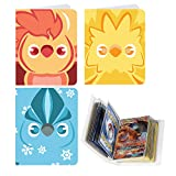 Totem World 3 Mini Album for Pokemon Cards - Each Mini Binder Album Holds 60 Cards - Top Load Sleeves Included - Protect Your Deck in Style - Inspired by Articuno, Zapdos, and Moltres