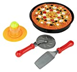 11 Piece Pizza Set for Kids; Play Food Toy Set; Great for a Pretend Pizza Party; Fast Food Cooking...