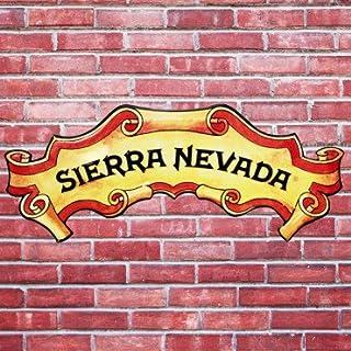 Sierra Nevada Metal Beer Tacker Sign