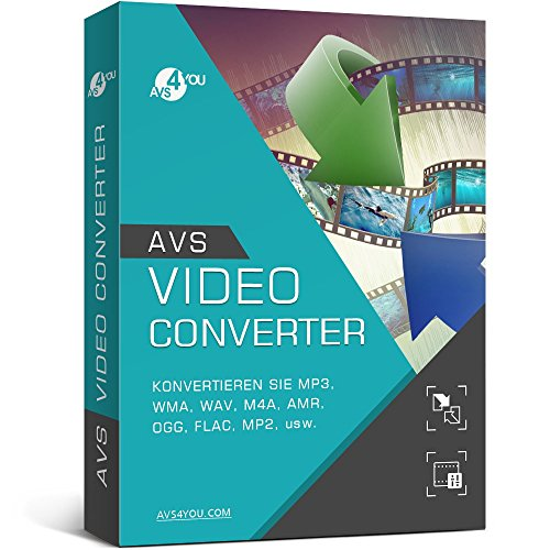 AVS Video Converter (Product keycard ohne Datenträger)