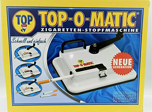 TOP-O-MATIC (Topomatic) Zigarettenstopfmaschine V2 Metall by smokertools