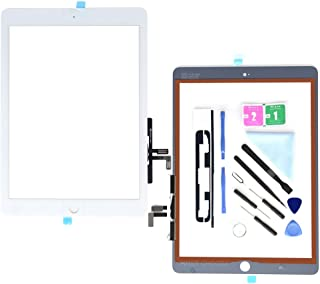 First Choose White Digitizer iPad 9.7 (A1822, A1823)/Ipad 5 Ipad Air 1st Touch Screen Digitizer - Front Glass Replacement Tool Repair Kits+Adhesive