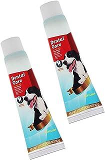 Pack X2 DentifriceS pour Chien - Pate a Macher pour Chien - Elimine Le tartre et la Plaque Dentaire - Soin Dentaire Preser...