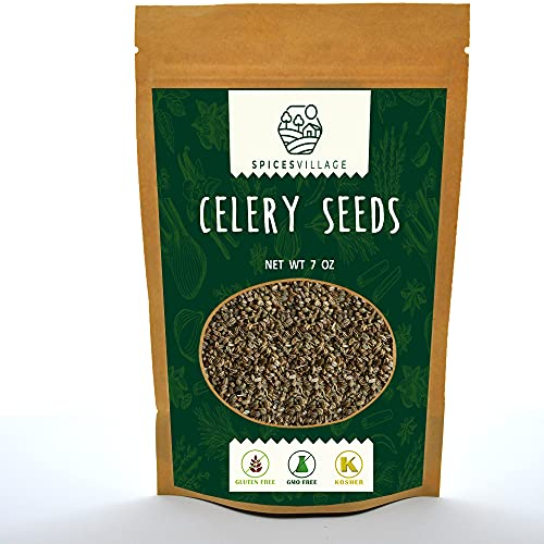Spices Village Celery Seeds, Kosher Certified, All...