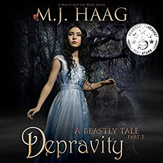 Depravity audiobook cover art