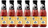 Taco Bell Glass Bottle Sauce, Mild, 7.5 OZ (Pack of 6)