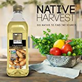 Native Harvest Expeller Pressed Non GMO Peanut Oil, 1 Litre (32FL OZ)