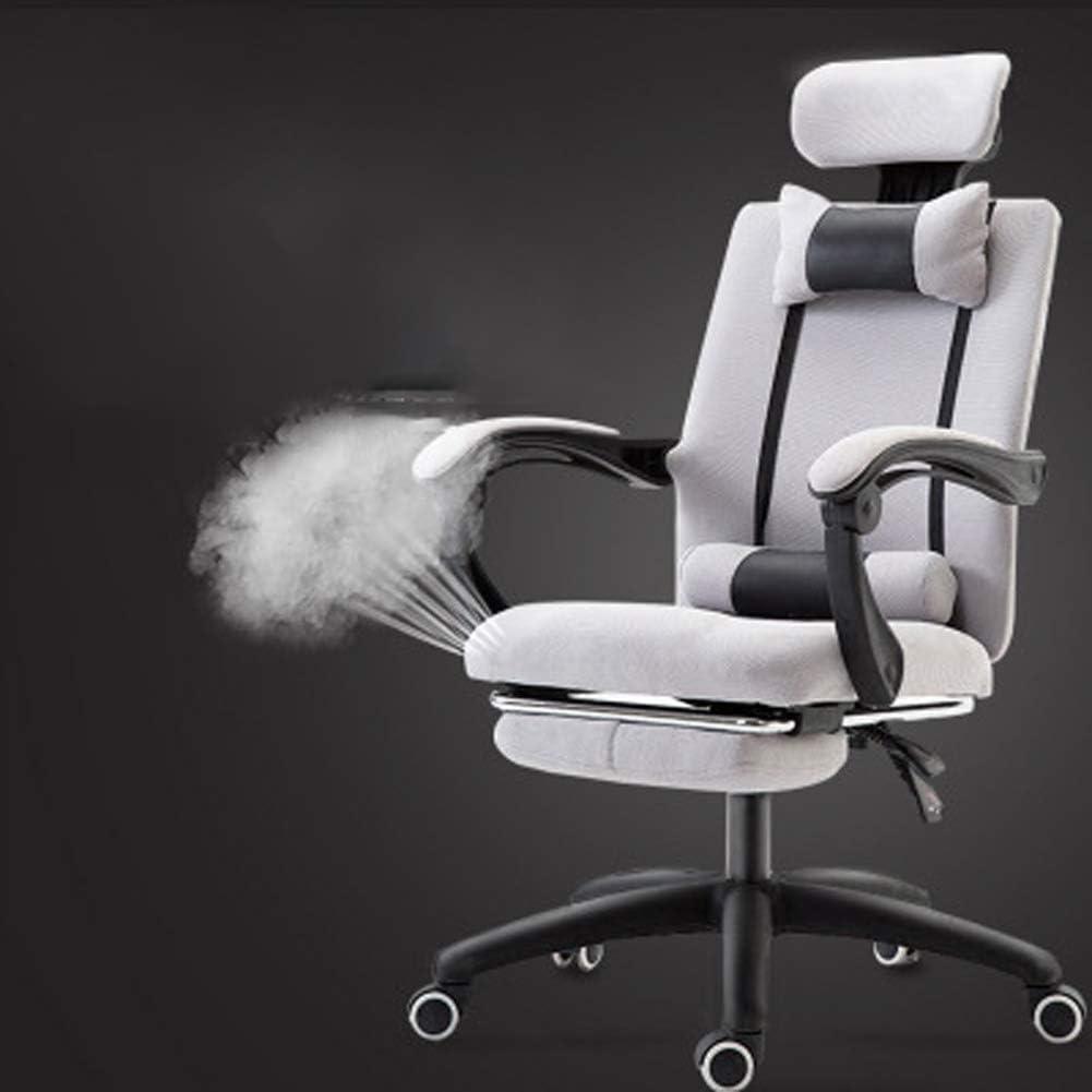 GST Chaise de Bureau d'ordinateur - Tabouret Haut de Type canapé avec Levage pivotant, Confortable et Doux-5 5