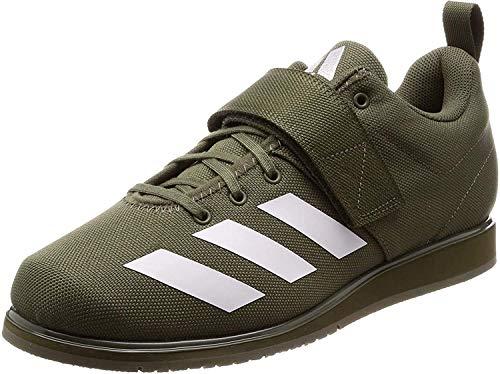 Adidas Powerlift 4, Zapatillas de Deporte para Hombre, Verde (Raw Khaki/FTWR White/Raw Khaki Raw Khaki/FTWR White/Raw Khaki), 44 EU