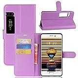 Funda® Flip Wallet Case for Meizu PRO 7 (Purple)