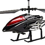 KRCT Negro aleación Anti-caída helicóptero teledirigido 2.4Ghz 3.5 Canales Recargable...
