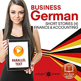 Business German 4: Accounting & Finance audiobook cover art