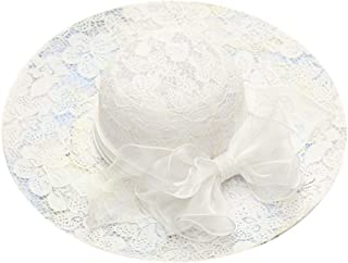 hositor Kentucky Derby Hats for Women, Women's Organza Church Kentucky Derby Fascinator Bridal Tea Party Wedding Hat