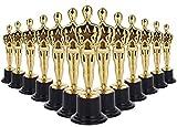 LAWEI Trofeo de oro de 6 pulgadas, trofeos estilo Óscar de 24 unidades