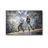 CHENSIHAN Coldplay - Póster de pared para conciertos (30 x 45 cm)