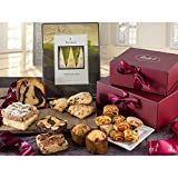 ENJOY A SAVORY TEA PARTY: Enjoy a savory tea party with family and guest, or treat someone you love to this perfect collection, complete with tantalizing pastries and a selection of fine teas. Gift Includes: 6 Assorted Scones-Flavors Include: Chocola...
