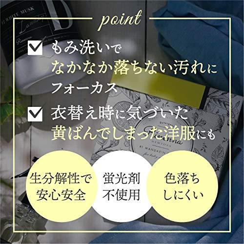 Rinenna#1)粉末洗濯洗剤1kg[マンダリンシトラスの香り]衣類洗剤おしゃれ着ギフトプレゼント(つけ置き洗いメイン)