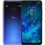 TCL (ティーシーエル) TCL-10 5G 対応 スマートフォン本体 SIMフリー Snapdragon 765G 搭載 (Chrome Blue) T790H-2ALCJP11