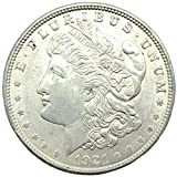 "Named after its designer, George T. Morgan, this silver dollar is noteworthy and highly collectible because it is the last in U.S. Mint's series of ""cartwheel"" silver coins. The Morgan silver dollar was minted between 1878 and 1904, and again, for a ..."
