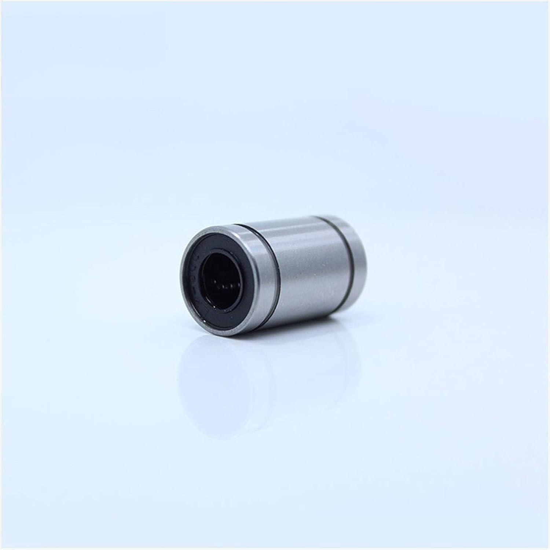 Majhengg LM08UU Linear Motion Bearings LM8 LM 8mm LM8UU (4 Pcs)
