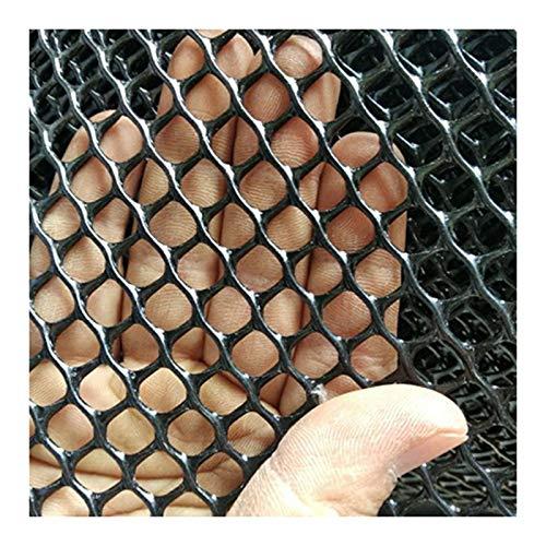 Red De Seguridad Red De Protección Contra Caídas Red De Protección De árboles Red De Protección De Balcón Red De Protección De Escaleras Para Niños, Negra, 1.2M*5M.(Size:1.8CM Aperture,Color:Negro)