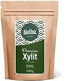 Xillitol (1kg) - alternativa del azúcar - azúcar de abedul natural (xilitol) - de Finlandia - Sabe a azúcar y Sin retrogusto - 40% de menos de calorías de azúcar - apto para I diabéticos
