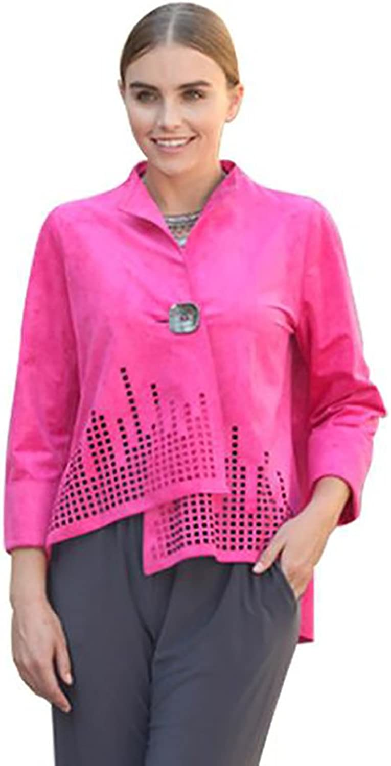 IC Collection  Skyliner  Jacket in Fuchsia