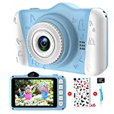 Kids Camera - Digital camera for kids with 3.5 inch Large Screen 1080P