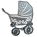 teng hong hui DIY Carro de bebé del patrón Troqueles de Corte del Carro DIY de la Plantilla para la Compra de Papel de Scrapbooking