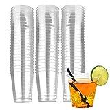vasos de plástico desechables,Vasos Tazas Transparentes,Vasos de Cerveza,Vajilla Desechable,para...