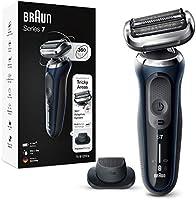 Braun Series 7s Rasierer Herren, Elektrorasierer mit 360° Anpassung, Präzisionstrimmer, AutoSense, Wet&Dry, 50 Min....