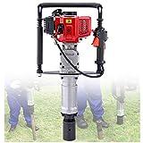LXYYSG Clavar Postes 2-Tiempos Gasolina Motor para Poste de...