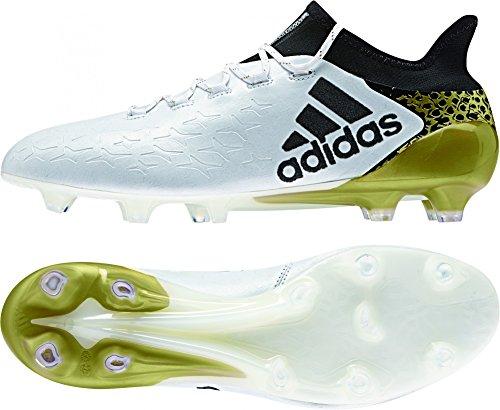 adidas Herren X 16.1 FG S81944 Fußballschuhe, Blanco Ftwbla Negbas Dormet, 46 EU