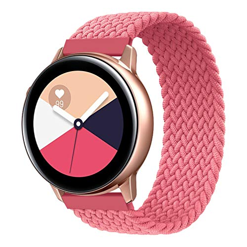 RIOROO Compatible para Samsung Galaxy Watch 3 Correa,  Muñequera de Elástica Tejida para Mujeres Hombres Pulsera Compatible para Huawei Watch GT2/Compatible for Garmin Vivoactive 3 Banda(Sin Reloj)