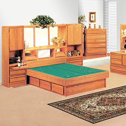 Fantastic Prices! INNOMAX Corona Wall Bed w/Optional Pedestal (Queen, 9 Pedestal (No Drawers))