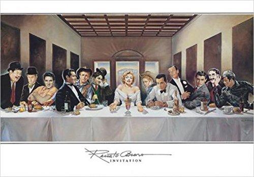 1art1 Renato Casaro - Invitation Poster Kunstdruck 50 x 35 cm