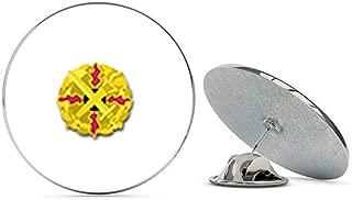 US Army Defense Ammunition Center and School Unit Crest Metal 0.75